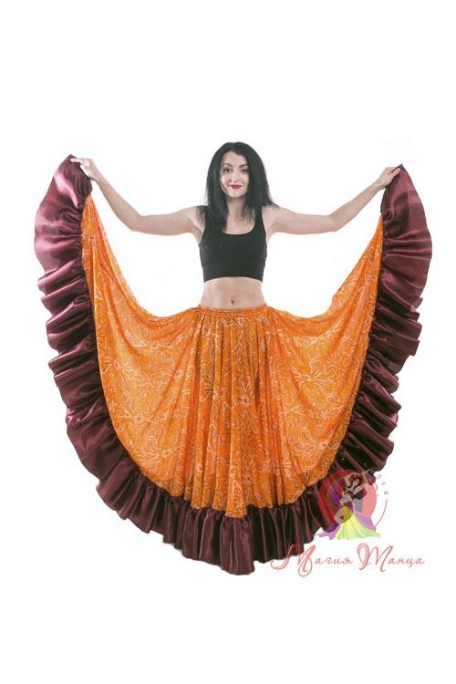 Купить юбку цыганскую недорого