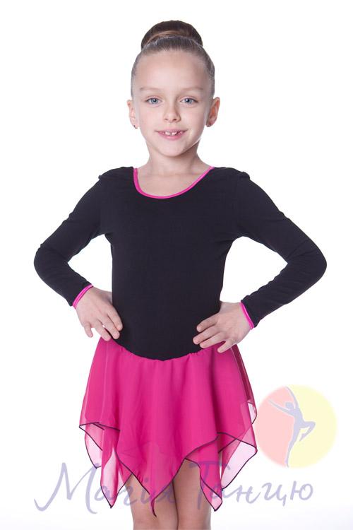 f828ac6fd7429 Купальник с шифоновой юбкой Квадратики Fairy - магазин товаров для танцев  Магия Танца, dance-shop.kiev.ua