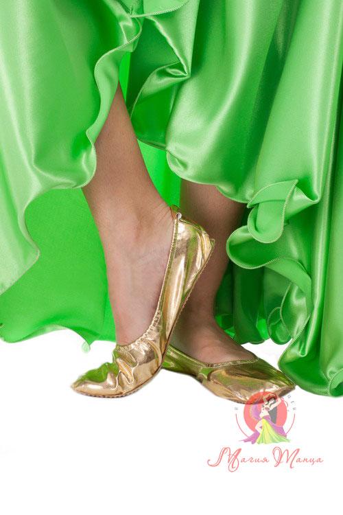 230f8ad95 Танцювальні туфлі золоті