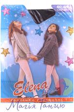 """Колготы для танцев """"ELENA"""" черные 60 den, Размер колгот: р. A (зріст 116-128)"""