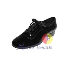 "Туфли мужской стандарт ""Clubdance"" 92102 лак, фото 1"
