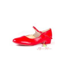 Туфли танцевальные красные