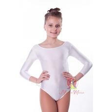 Белый купальник для танцев фото 1