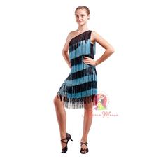 Платье для латины с бахромой фото 1