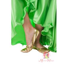 Танцювальні туфлі золоті
