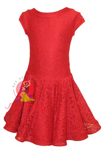 Бейсик рейтинговое платье для танцев