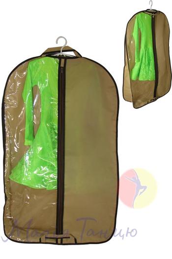 Чехол для одежды с 3угольным расширением 60*100 см, фото 4