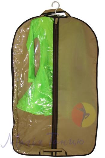 Чехол для одежды с 3угольным расширением 60*100 см, фото 5