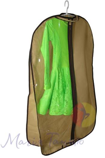 Чехол для одежды с 3угольным расширением 60*100 см, фото 6