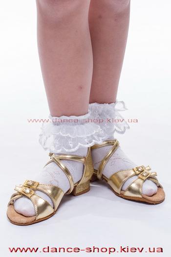Носочки белые с кружевом