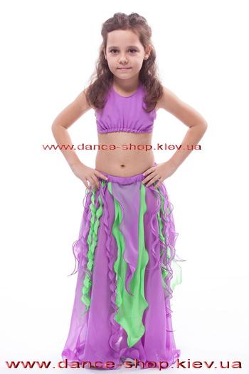 Костюмы восточные детские с воланами (разные), фото 2