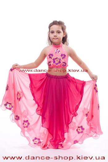 Костюм восточный детский с цветами, фото 1