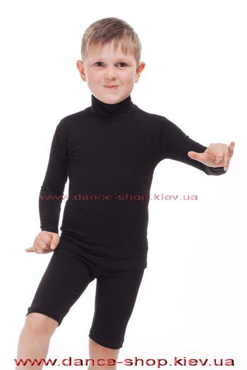 Гольф із бавовни чорний