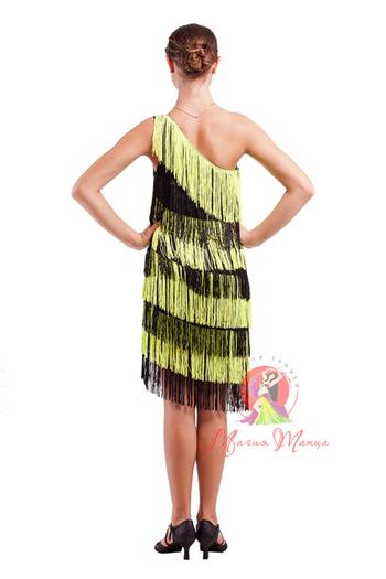 Сукня для латини з бахромою фото 4