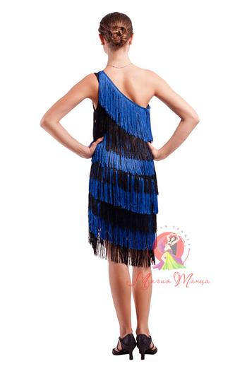 Сукня для латини з бахромою фото 7