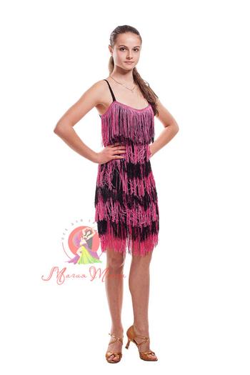 Платье латина с бахромой фото 8
