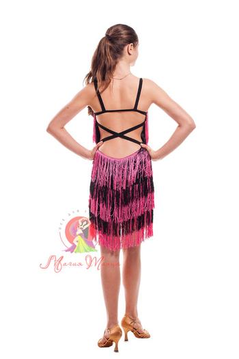 Платье латина с бахромой фото 9
