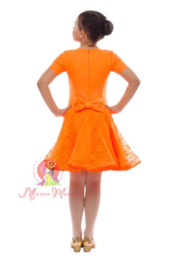 Бейсик оранжевый с коротким рукавом