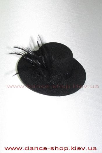 Заколка для волосся чорна