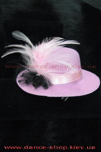 Заколка для волосся рожева