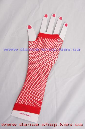 Рукавички сітка довгі, фото 4