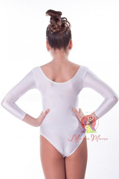 Белый купальник для танцев фото 2