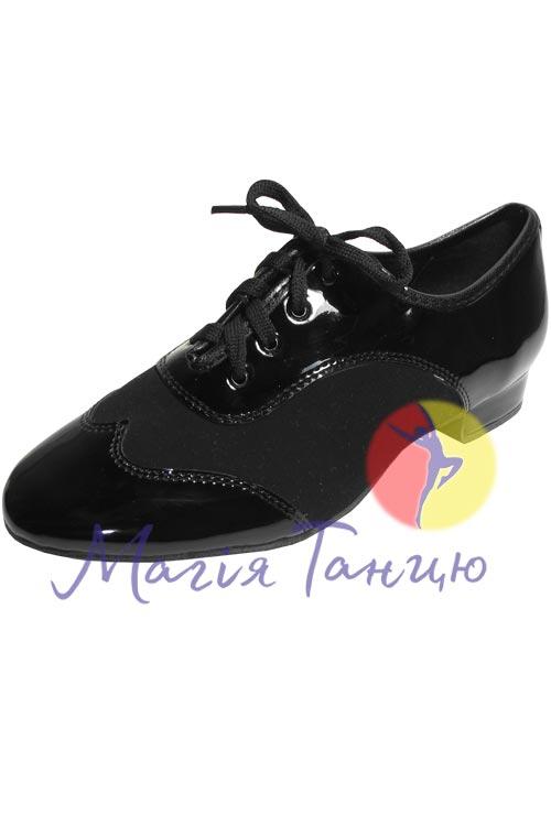"""Туфлі чол. ст. """"Clubdance"""" 92105 лак/нубук р.23-26, Розмір взуття: р. 22,5 (35)"""