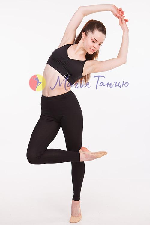 Топ с чашками короткий для танцев Chanel, фото 3